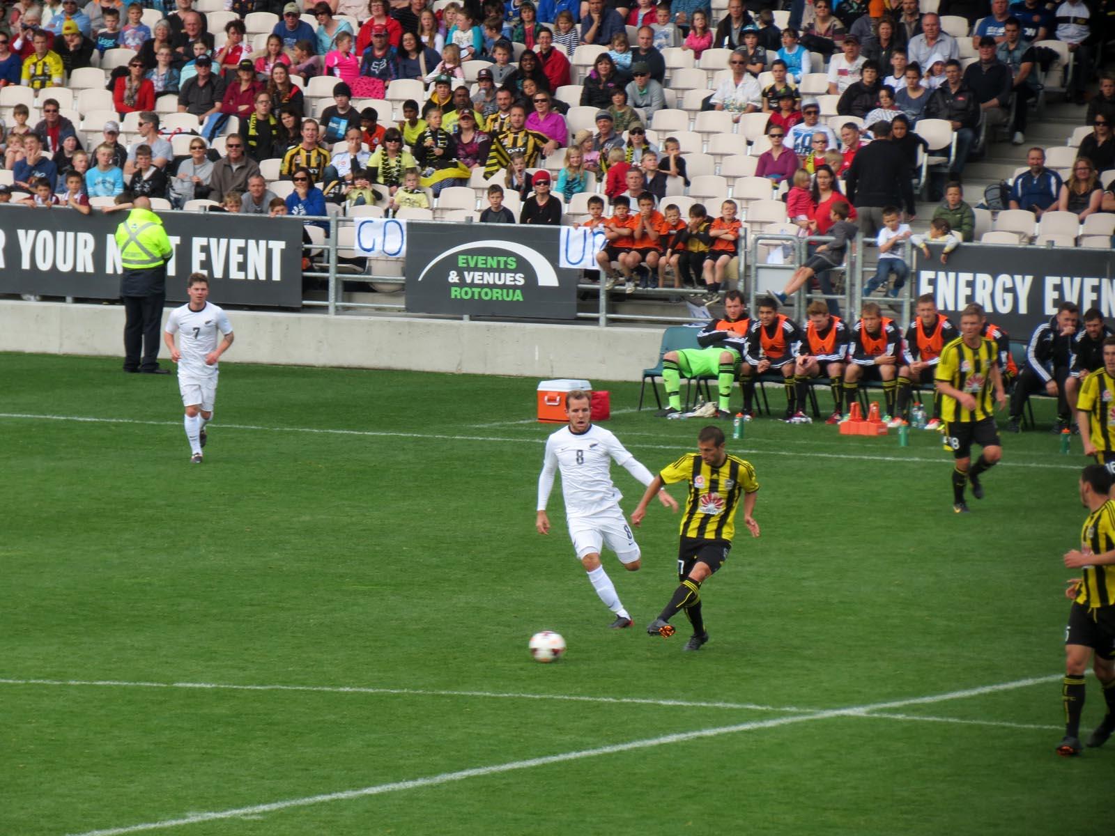 One Minute At… Rotorua International Stadium