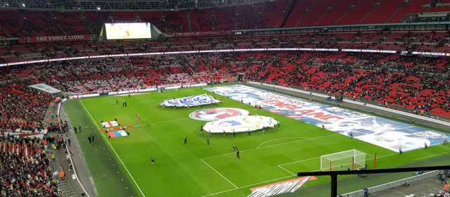 Back at Wembley